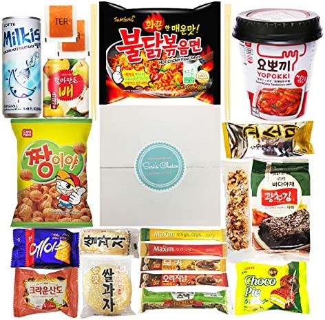 Journey of Asia Seri s Choice KOREAN Snack Box 20 Count Individual Wrapped Packs of Coffee Snacks product image