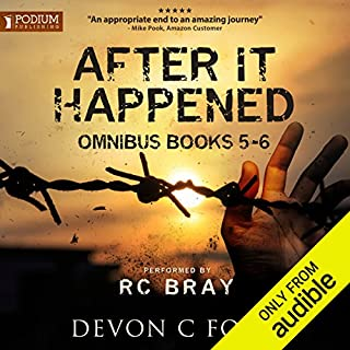 After It Happened     Publisher's Pack 3              Written by:                                                                                                                                 Devon C. Ford                               Narrated by:                                                                                                                                 R. C. Bray                      Length: 13 hrs and 28 mins     48 ratings     Overall 4.8