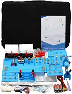 Physics Science Lab Basic Circuit Electricity Experiment Learning Kit A great electronics STEM kit for junior high school ...