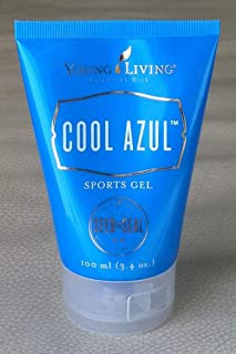 Cool Azul Sports Gel 3.4 oz - 100% Pure Theraputic Grade Essential Oils by Young Living Essential Oils