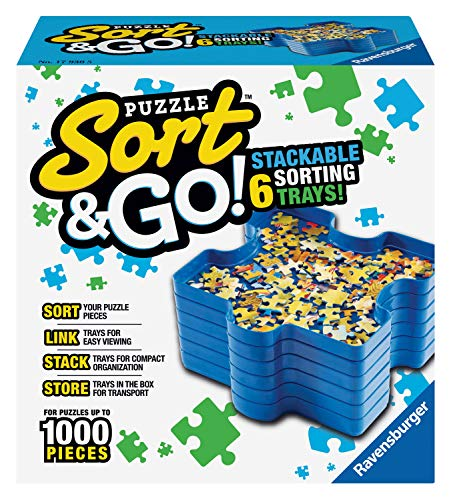 Sort and Go Puzzle Trays