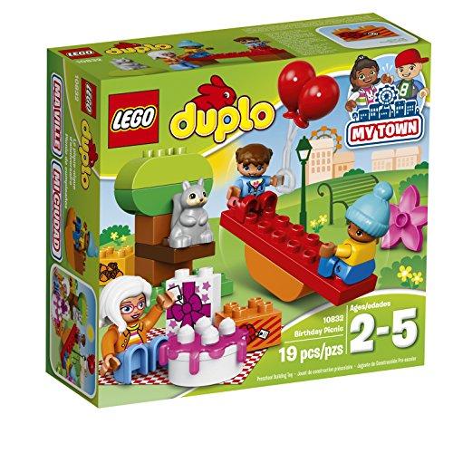 LEGO DUPLO My Town Birthday Party 10832, Preescolar, Pre-Kindergarten juguetes de bloques grandes para niños pequeños