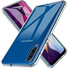 LK Funda para Samsung Galaxy A50, Carcasa Cubierta TPU Silicona Goma Suave Case Cover Play Fino Anti-Arañazos - Clara