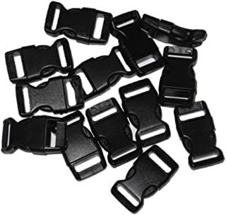 1/2 Curved Side Release Buckles for Paracord Bracelets (Ships from USA) 5-250 Count