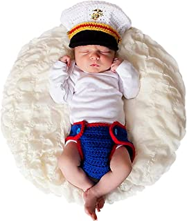 Newborn Photography Props Outfits - Baby Boy/Girl Knitted Hat Pants Cartoon Animal Costume Set