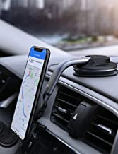 AUKEY Car Phone Mount 360 Degree Rotation Dashboard Magnetic Cell Phone Holder for Car Compatible with iPhone 11 Pro Max / 11 / XS Max / XS / 8 / 7 , Samsung Galaxy S10+, Google Pixel 3 XL, and More