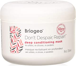 Briogeo - Don t Despair, Repair Deep Conditioning Mask, Intense Hydration for Those with Dry, Damaged, Chemically Treated and/or Lifeless Hair, 8 oz