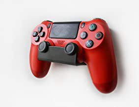 Monzlteck New Wall Mount For PS4 Controller(DualShock 4),Custom Design,NO Falling,Screw-Free Application
