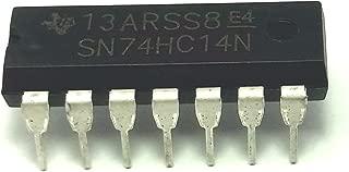 Texas Instruments SN74HC14 74HC14 Hex Schmitt-Trigger Inverters DIP14 (Pack of 5)