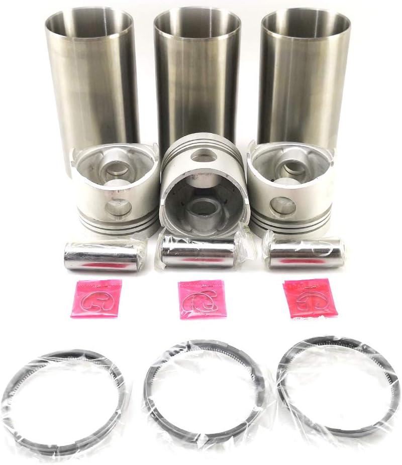 DAILY REFINING D750 gift Sales for sale Engine Cylinder 15261-21110 Par Liner Piston