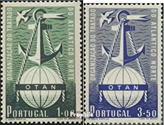 Portugal 778-779 (complete.issue.) 1952 OTAN (Stamps for collectors) military