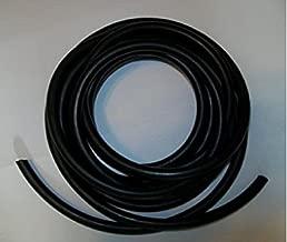 USA Premium Store 10 Feet 1/8 I.D x 1/32 Wall x 3/16 O.D Surgical Latex Rubber Tubing Black