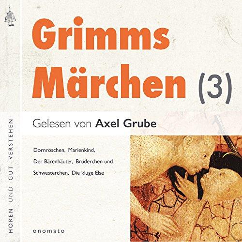 Dornröschen / Der Bärenhäuter / Brüderchen und Schwesterchen / Marienkind / Die kluge Else audiobook cover art