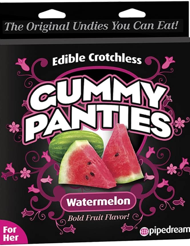 Edible NEW before Max 73% OFF selling Crotchless Gummy Panty - Watermelon