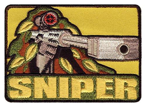 ROTHCO Patch Sniper 72187 Velcro au dos