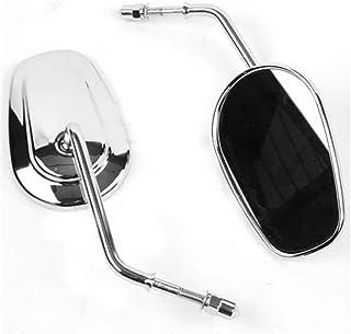 cromati compatibili con Harley Softail Electra Road Glides Sportster Tour Glide Road King Bid4ze Kit di dadi per asse anteriore e posteriore