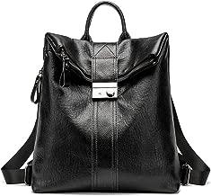 CWXDIAN Leather leather ladies bag shoulder bag diagonal female bag retro commuter bag