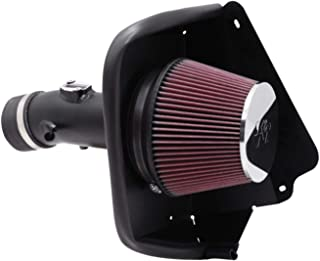 K&N Cold Air Intake Kit with Washable Air Filter: 2009-2019 Nissan Maxima, 3.5L V6, Black HDPE Tube with Red Oiled Filter, 69-7002TTK