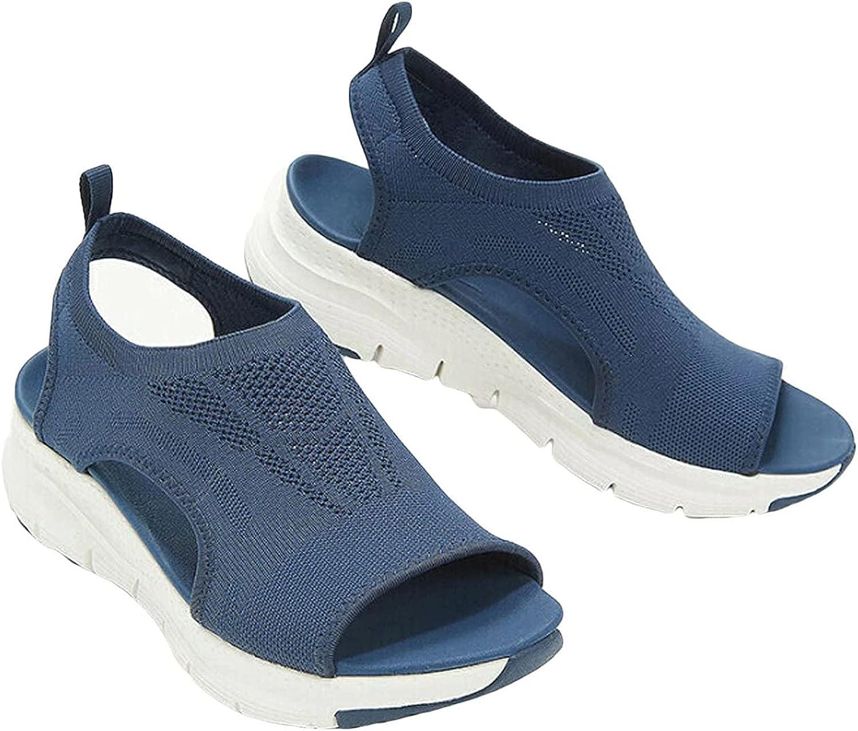 LELEBEAR Summer Washable Slingback Orthopedic Slide Sport Sandals, Ladies Washable Slingback Sport Sandals