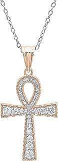 Best 14k diamond ankh pendant Reviews
