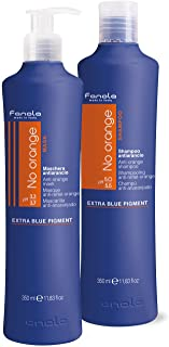 (350 ml Shampoo + Mask) - Fanola No Orange Shampoo & Mask, 350 ml