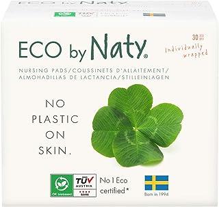 Eco by Naty, coussinets d'allaitement. Ultra absorbants, compostables, fabriqués à partir de bambou, pâte de bois et voile...