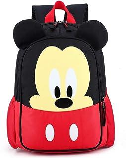 Borsa da scuola per bambini JPYH Zainetto Bimba Con Personaggi Mickey Minnie Scuola Materna Elementare Media Asilo Nido, I...