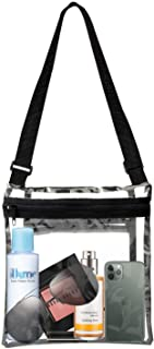 Clear Purse Bags for Women, Stadium Approved Clear Crossbody Bag for Stadium Concerts, See Through Bag with Inner Pocket a...
