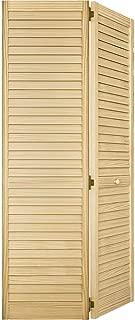 Closet Door, Bi-fold, Louver Louver Plantation (36x80)
