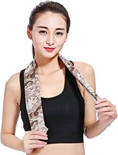 Outdoor Cooling Towel for Sports, Workout, Fitness, Gym, Yoga, Travel, Camping