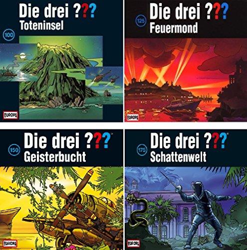 Die Drei ??? (Fragezeichen) - Jubiläumsboxen - Folge/CD 100+125+150+175 im Set - Deutsche Originalware [12 CDs]