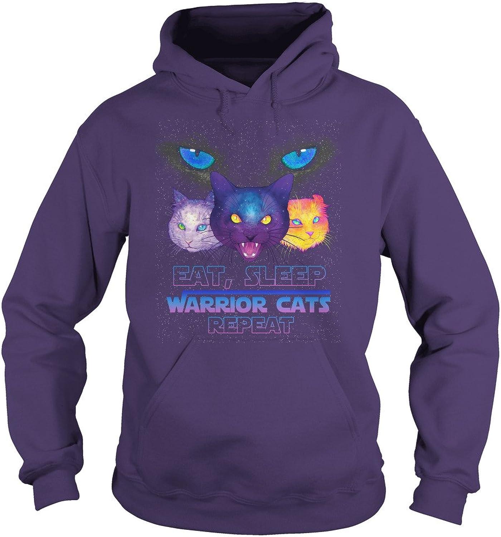 EAT, Sleep Warrior Cats Repeat TShirt