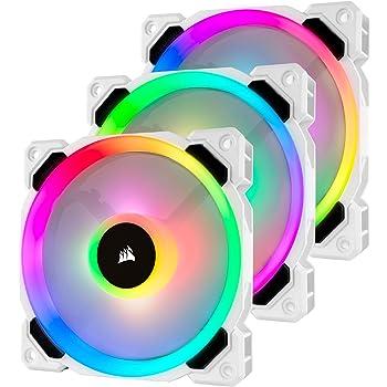 Gear Aid - Toalla de Microfibra de Secado rápido para Viajes, acampadas y Deportes, Pack Triple, LL120 RGB Color Blanco, Lighting Node Pro Included