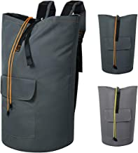 Chrislley 115L Extra Large Laundry Bags Backpack Laundry Hamper Backpack Collapsible Laundry Bag for College Dorm Hanging ...
