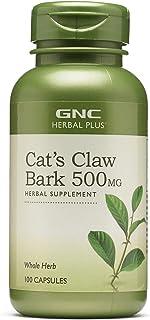 GNC Herbal Plus Cat's Claw Bark 500mg, 100 Capsules, Immune Support