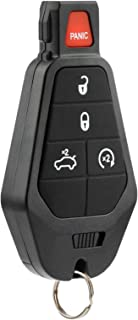 Key Fob fits Chrysler 300/Dodge Challenger Charger Durango Magnum/Jeep Grand Cherokee 2008 2009 2010 2011 2012 2013 2014 Keyless Entry Remote