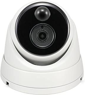 Swann SWPRO-3MPMSD-AU Thermal Sensing Outdoor Security Camera, 3MP Super HD Dome with IR Night Vision and PIR Motion Detec...