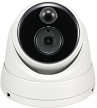 Swann SWPRO-3MPMSD-AU Thermal Sensing Outdoor Security Camera, 3MP Super HD Dome with IR Night Vision and PIR Motion Detection