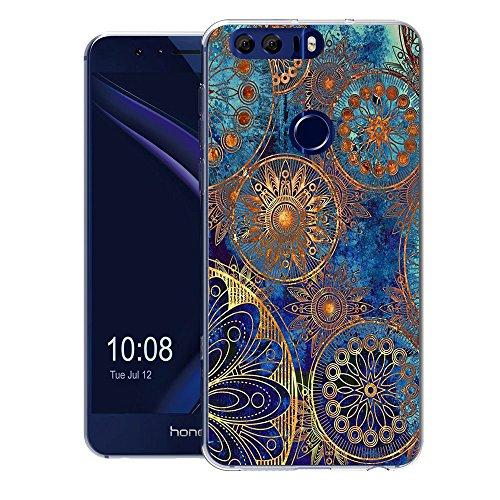 FoneExpert Huawei Honor 8 Tasche, Ultra dünn TPU Gel Hülle Silikon Hülle Cover Hüllen Schutzhülle Für Huawei Honor 8