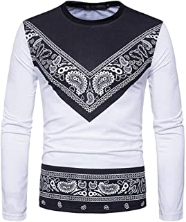 Men Shirts, 2018 Newest Men Casual African Style T-Shirt Blouse