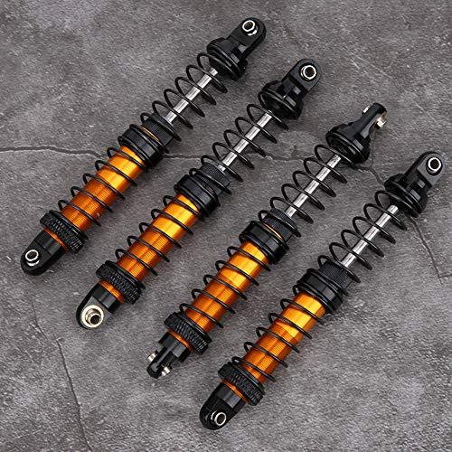 RC Stoßdämpfer Dämpfer, Ölfeder Stoßdämpfer Dämpfer RC Car Metall Stoßdämpfer Kompatibel mit Tamiya CC01(100mm)