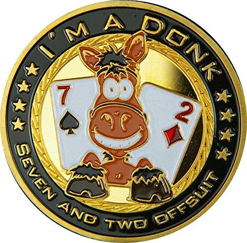 Pokerguard Poker Card Guard, Pokerzubehör (I'm a Donk)
