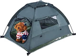 PETTOM Dog Cat Camping Tents 45.3