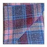 Harris Tweed-Stoff, 100 % reine Wolle, mit Etiketten, 75 x