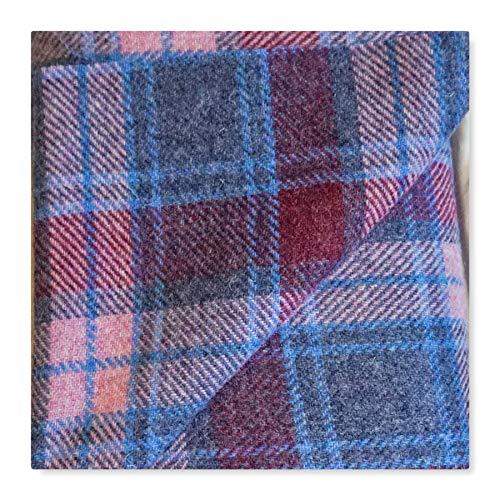 Harris Tweed-Stoff, 100 % reine Wolle, mit Etiketten, 75 x 50 cm, SPT01