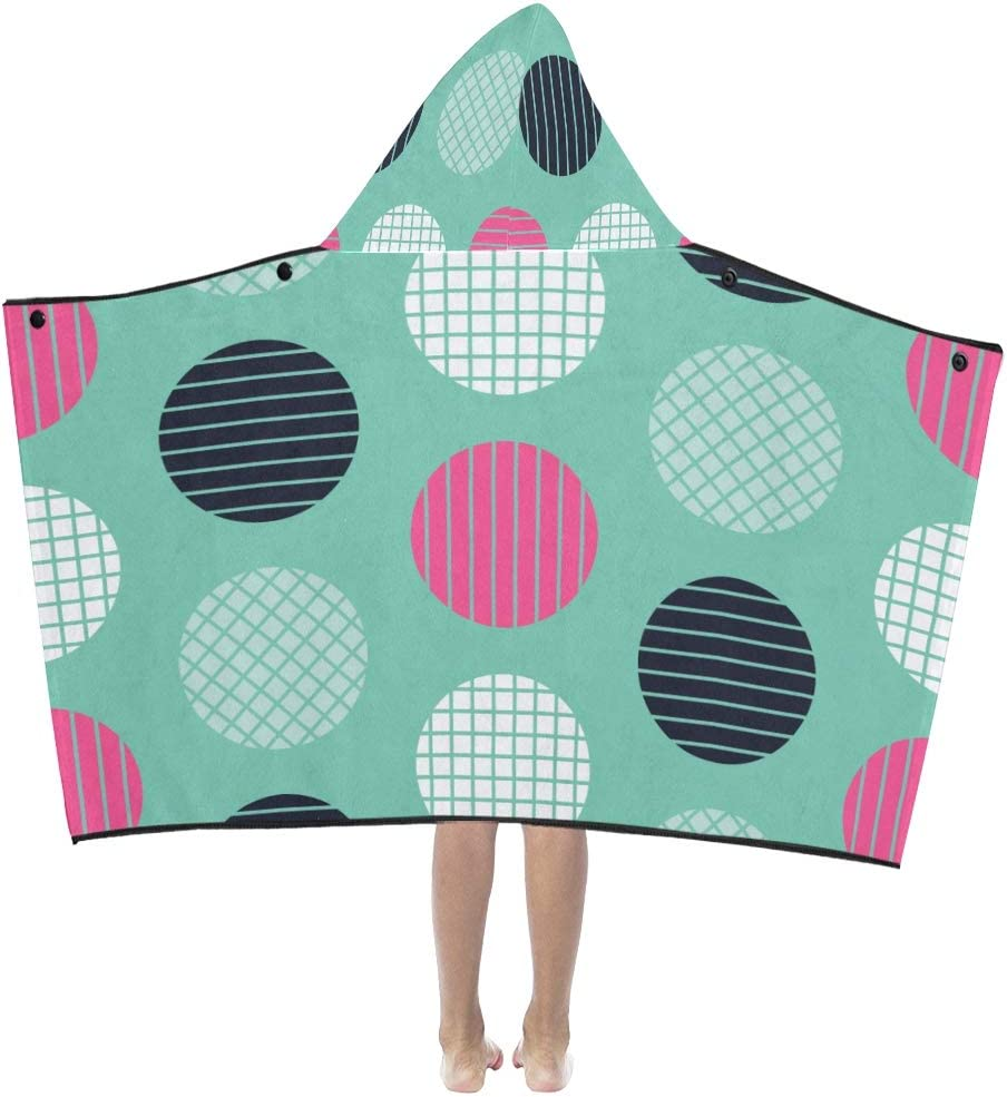 JIAJIA Hood Blankets 35% OFF Free Shipping Cheap Bargain Gift Colorful Fabric Circles Hooded Kids Blanket