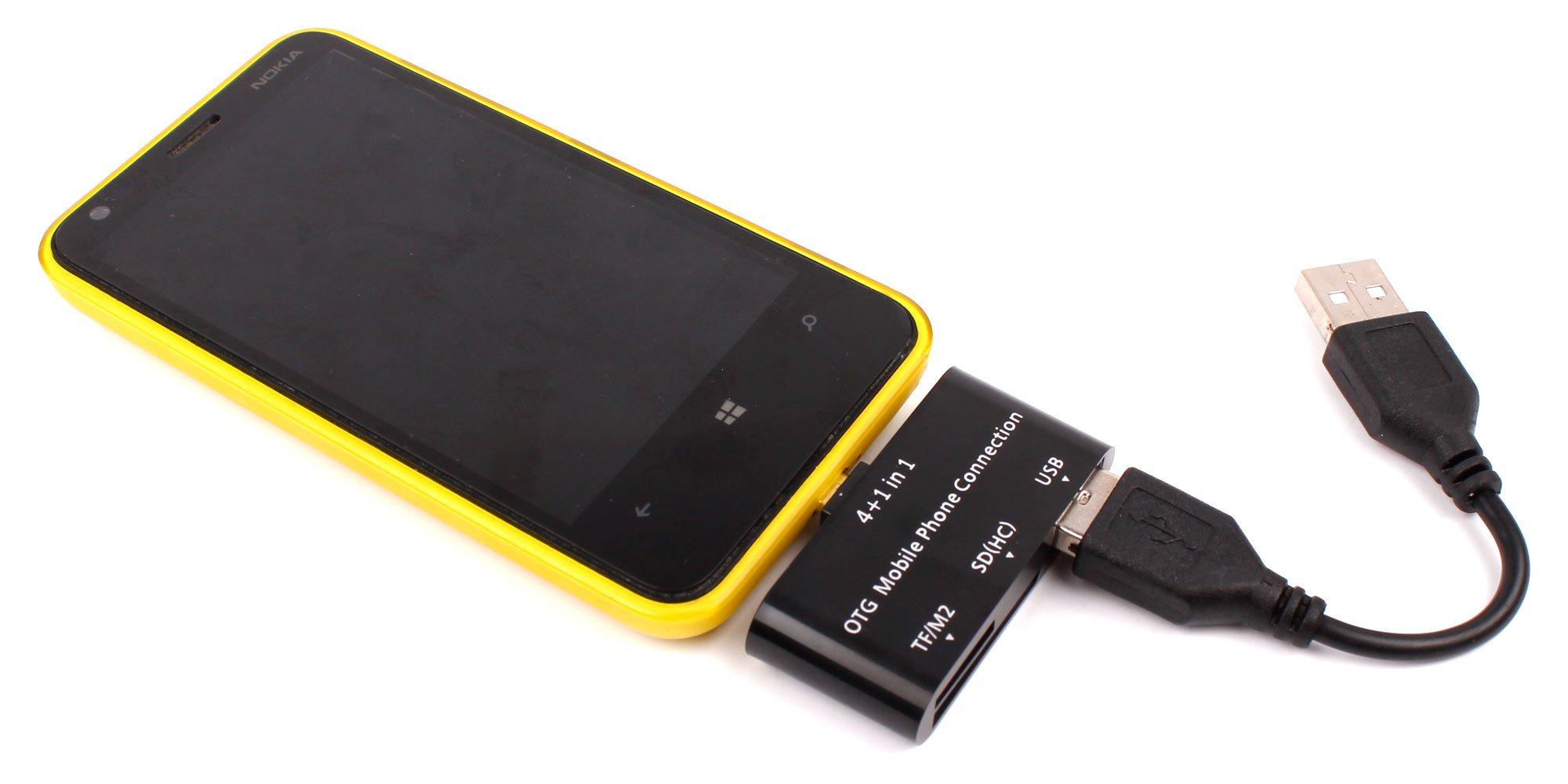 DURAGADGET Lector De Tarjetas para Smartphone Samsung Galaxy J4+ ...