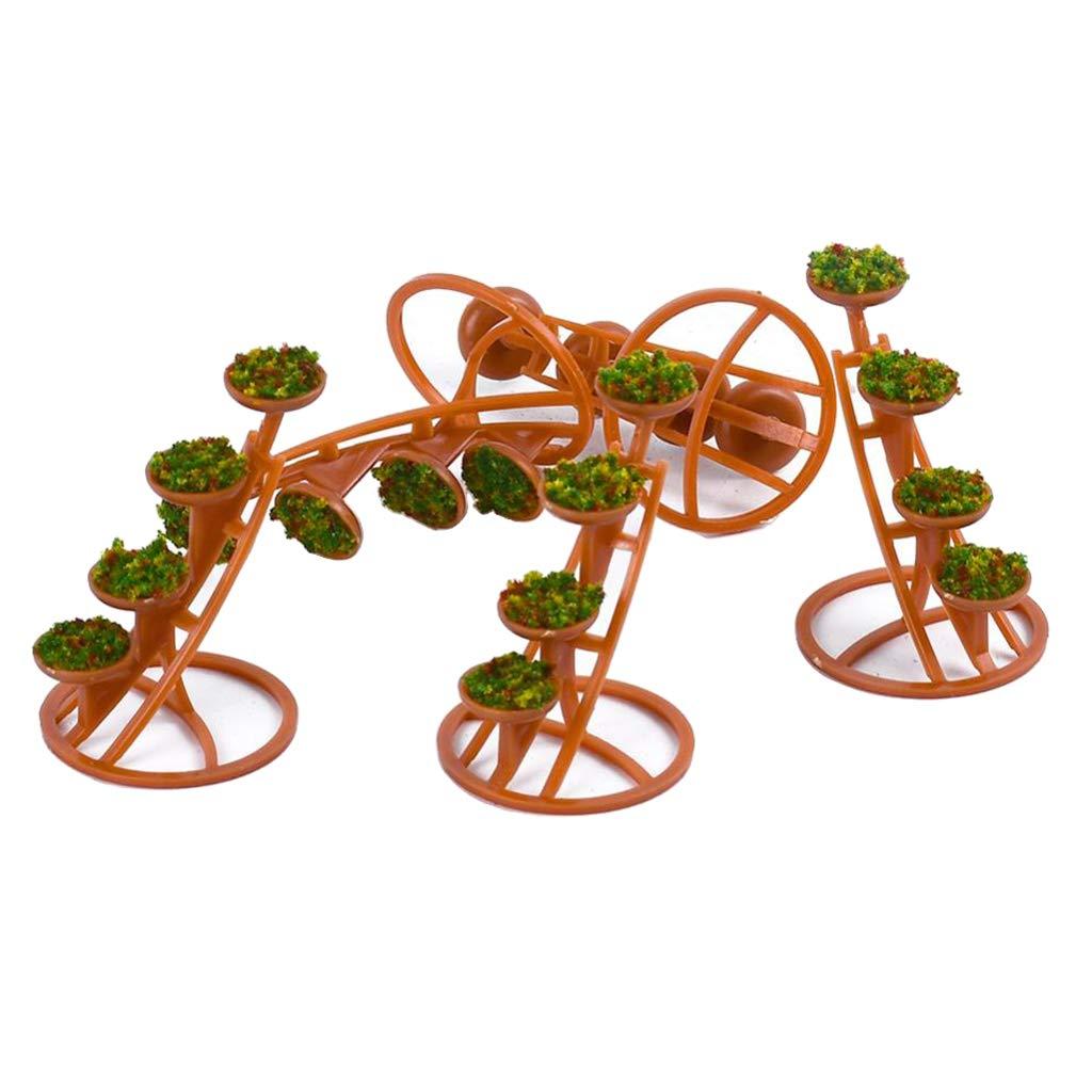 Amazon.es: Toygogo DIY Fairy Garden Kit Pergola Accesorios Decoración Miniatura Doll House - 1:50: Juguetes y juegos