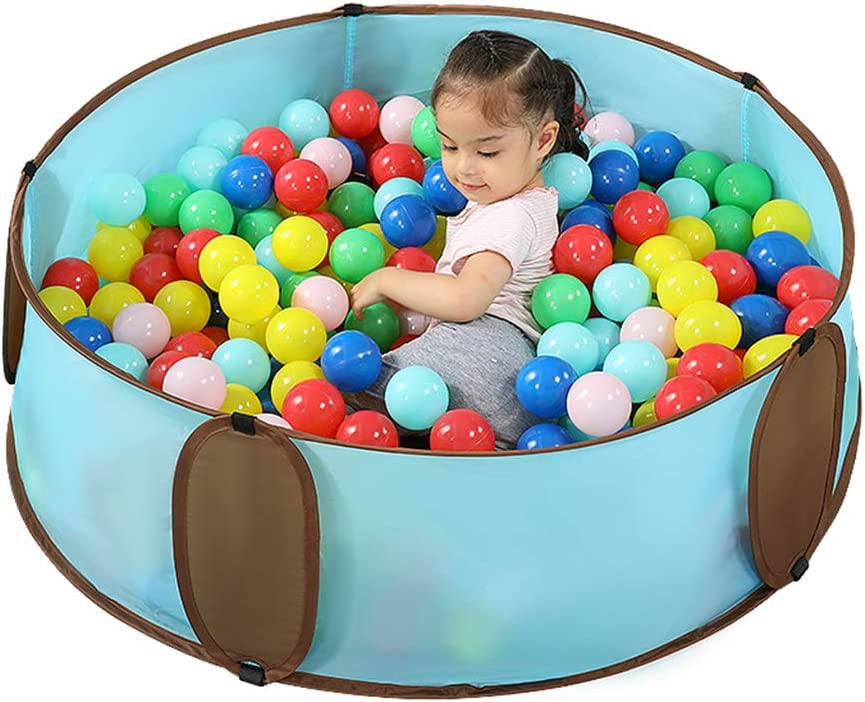 Ranking TOP6 Kids Safety Play Center Max 73% OFF Yard Playpen Ball Ocean Pool Foldable In