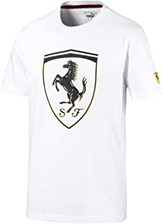 PUMA Men's Standard Scuderia Ferrari Big Shield Tee